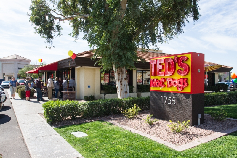Teds Hot Dogs Tempe