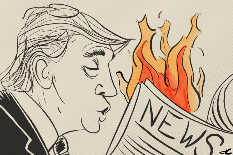 trump news fire