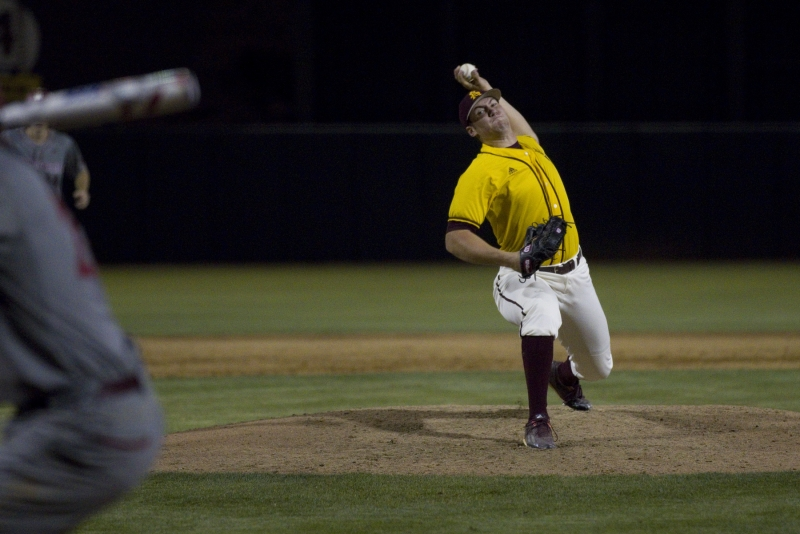 Connor Higgins is the only Sun Devil selected in the 2017 MLB Draft