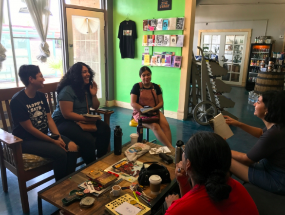 Local collective of young people promotes advocacy for people of color