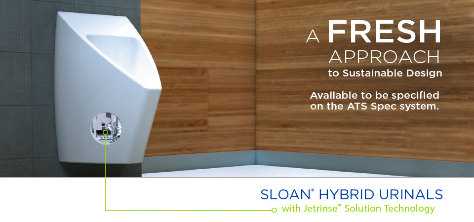 Sloan Hybrid urinal