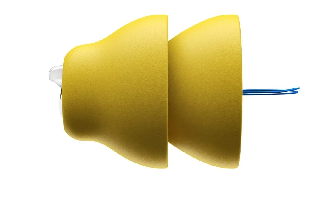 a pair of lyric hearing devices