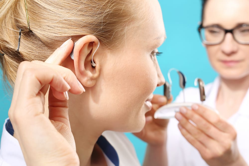 hearing specialists are testing out new hearing aid devices