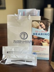 informational materials about allison audiology