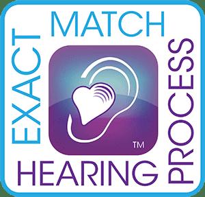 Exact Match Heaing Process logo 300