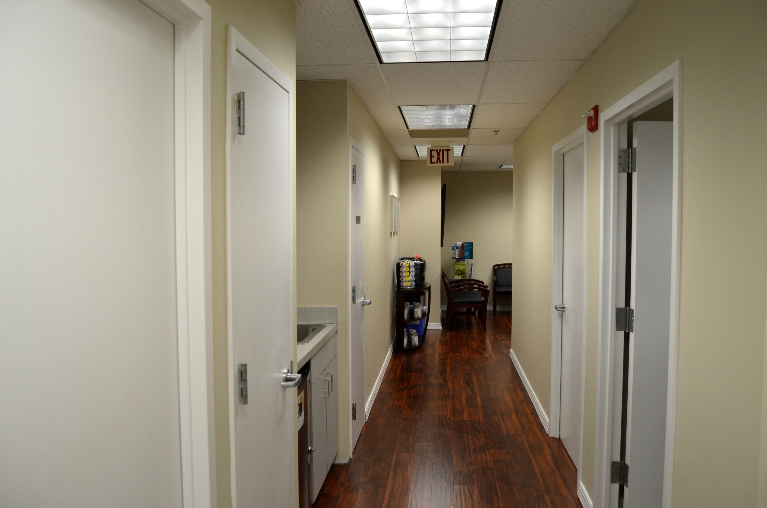 Chevy Chase, Interior Office
