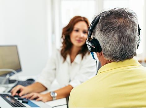 service hearing diagnostic