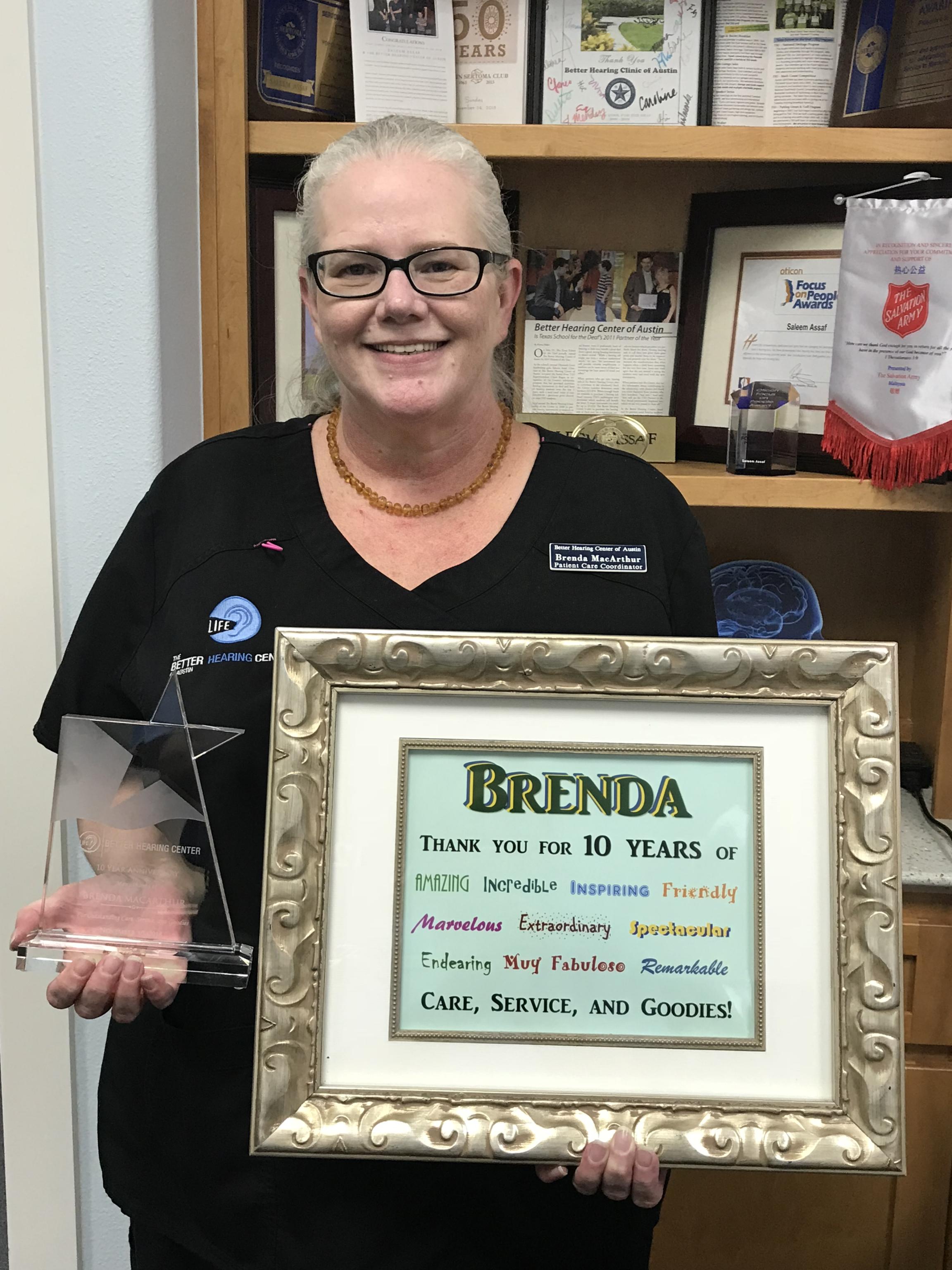 Brenda MacArthur : Patient Care Coordinator