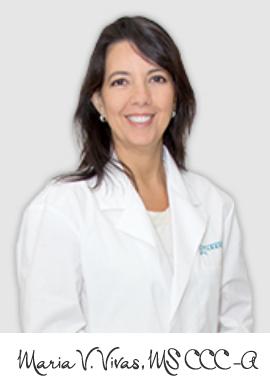 Maria Vivas : Audiologist