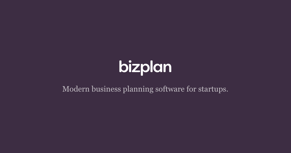Create a business plan with our builder bizplan wajeb Gallery