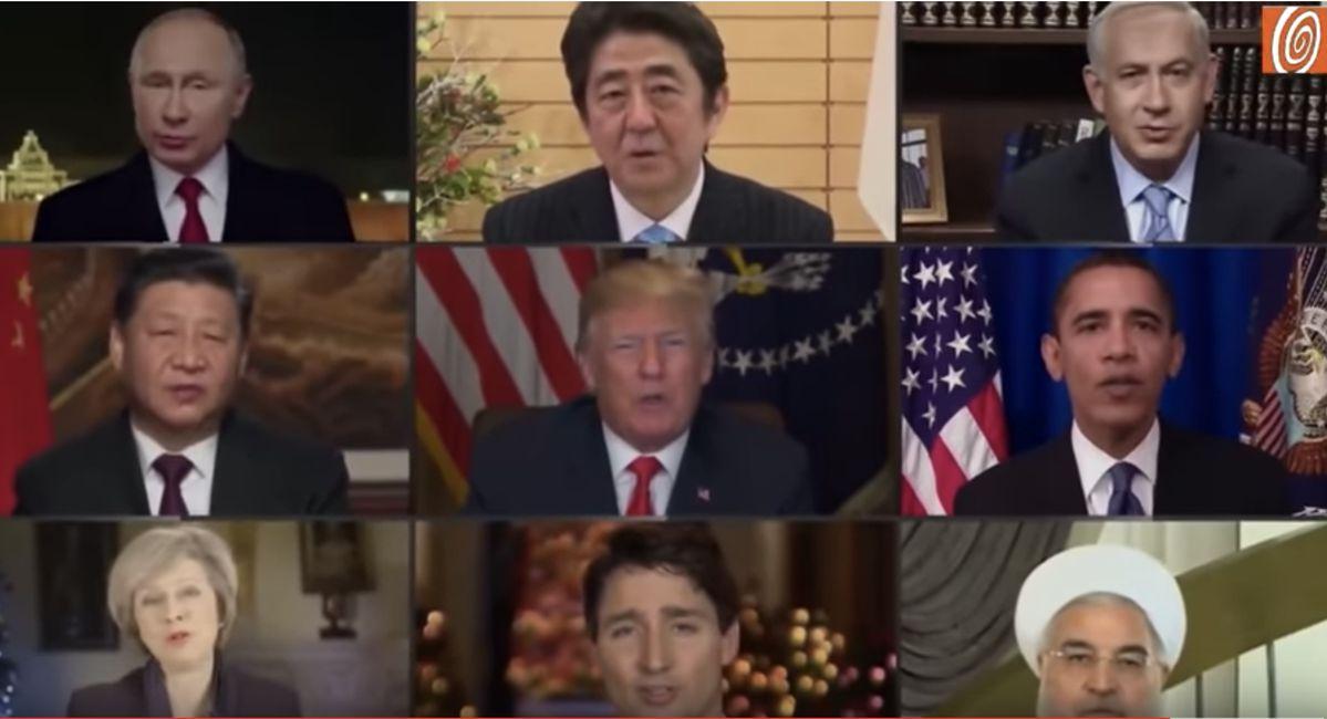 """Deepfake video shows world leaders singing John Lennon's """"Imagine."""""""