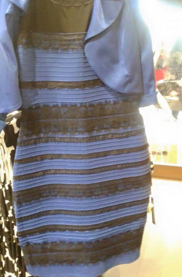 viral content black gold dress