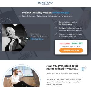 Brian Tracy Tripwire Marketing Example