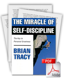 The Miracle Of Self Discipline Training Package By Brian Tracy