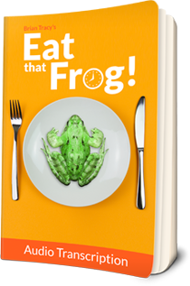 time management tips book with frog on plate cover photo, Eat That Frog by Brian Tracy