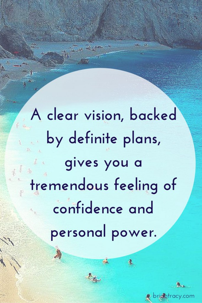 brian tracy clear vision quote