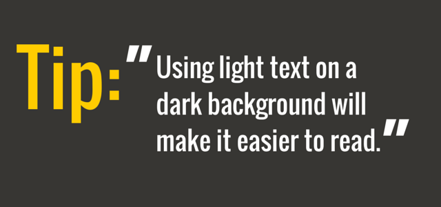 using-light-text-in-a-presentation