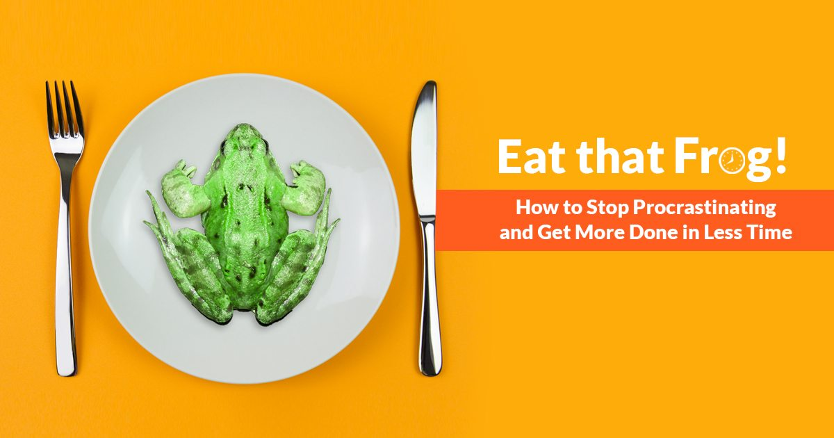 Eat That Frog, Explained By Brian Tracy