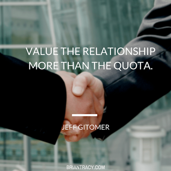 Jeff-Gitomer-Value-the-relationship