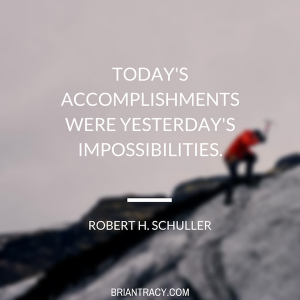 56 motivational and inspirational quotes brian tracy rober h schuller todays accomplishments were inspirational quote voltagebd Gallery
