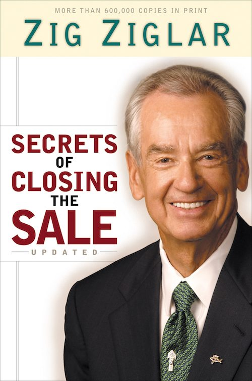 best sales books secrets of closing the sale