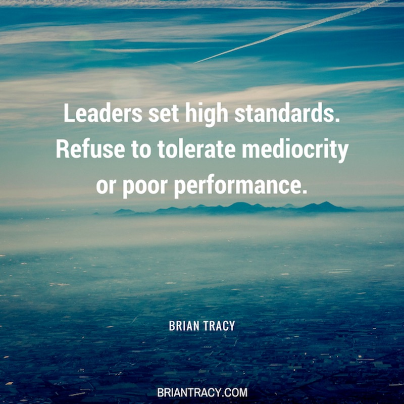 Leadership Quotes Leaders Set High