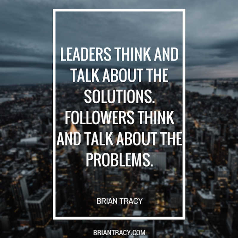 Good Leadership Quotes: 20 Brian Tracy Leadership Quotes For Inspiration