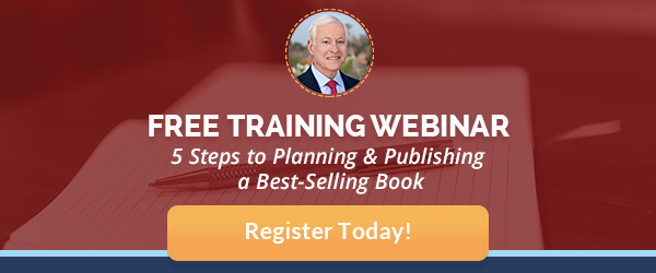 sign up for a free training webinar to plan and publish a book