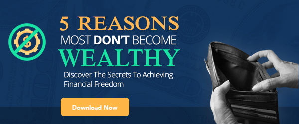 5 Reasons Most Don't Become Wealthy 600x250