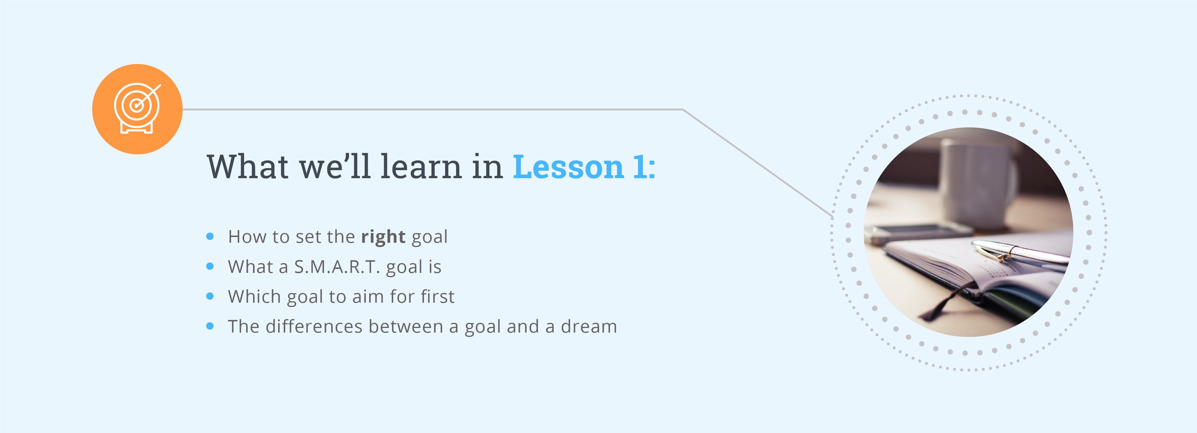 Reaching Your Goals Lesson 1