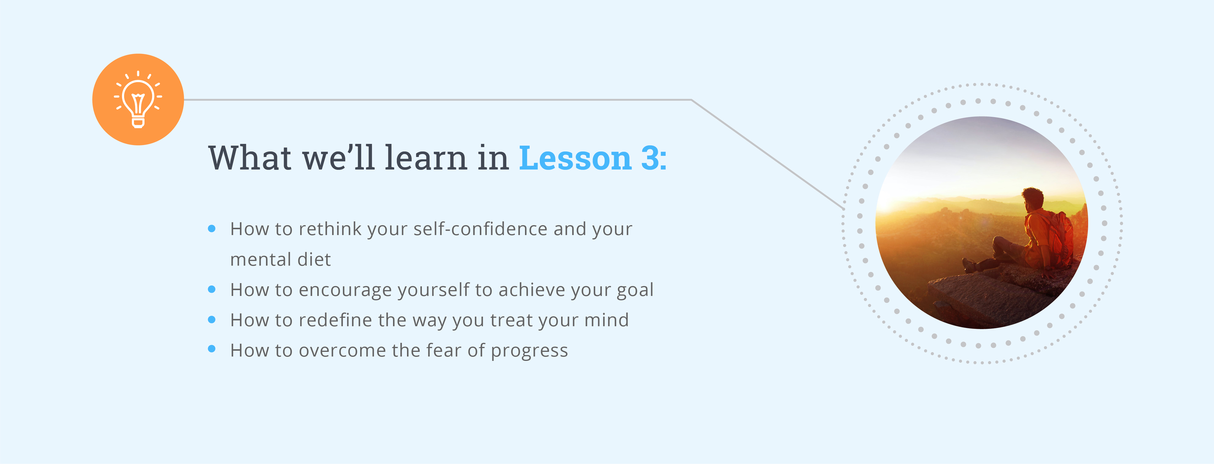 Reaching Your Goals Lesson 3