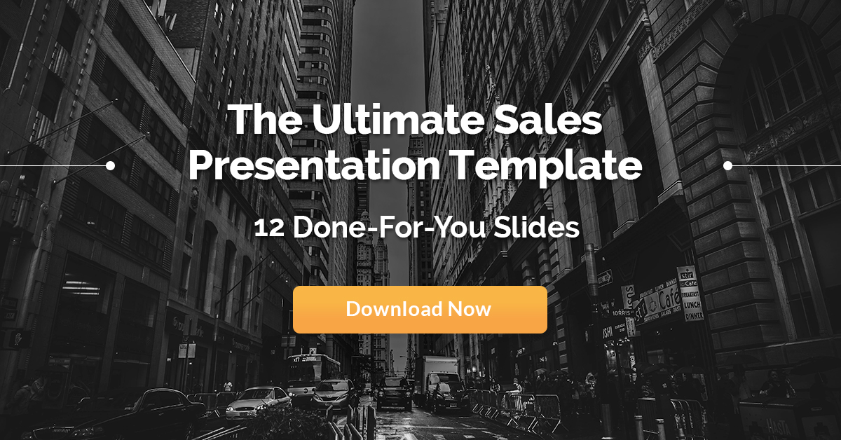 The Epic Sales Presentation Template  Winning Slides