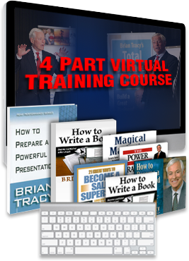virtual writing training course, How to Write a Book by Brian Tracy