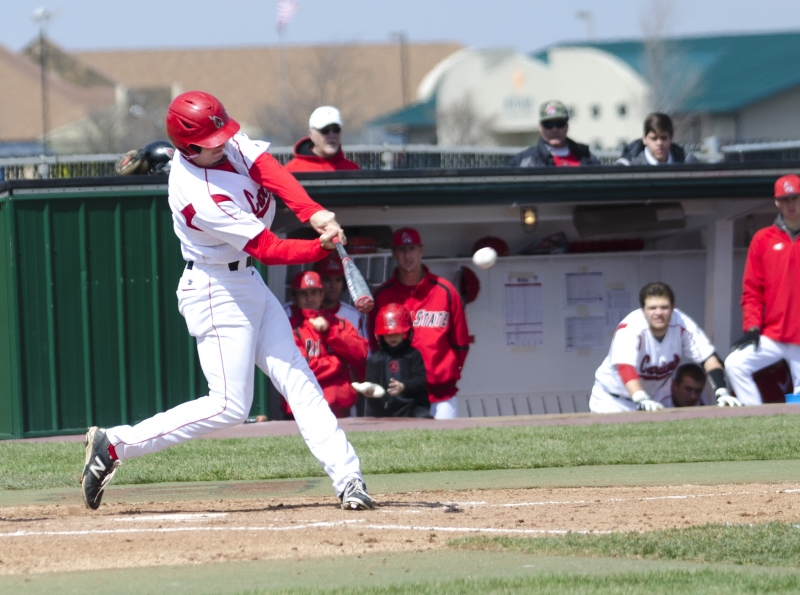 BASEBALL: Cardinals fall in round two of MAC Tournament