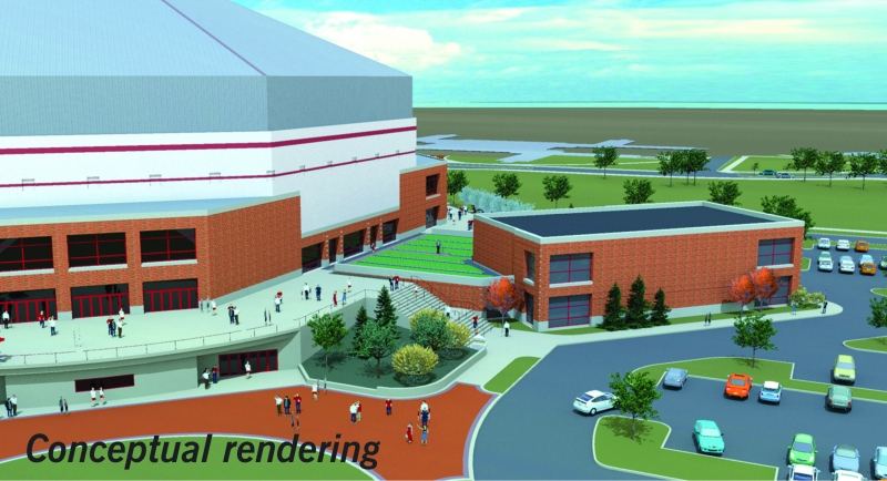 Cardinal Commitment campaign athletic facilities update