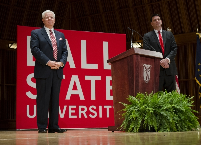 Key points of Paul Ferguson's contract as Ball State president