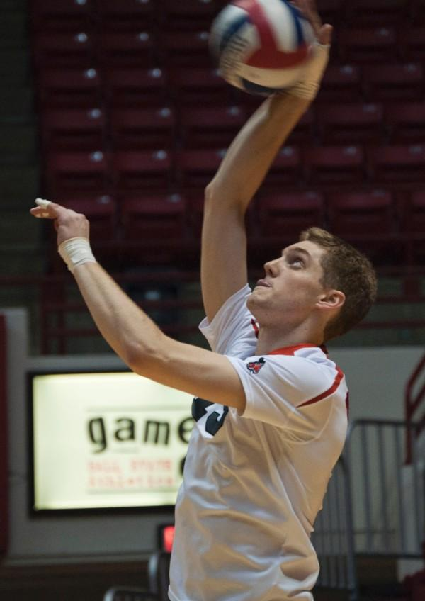 MEN'S VOLLEYBALL: Ball State drops nail-biter to Loyola