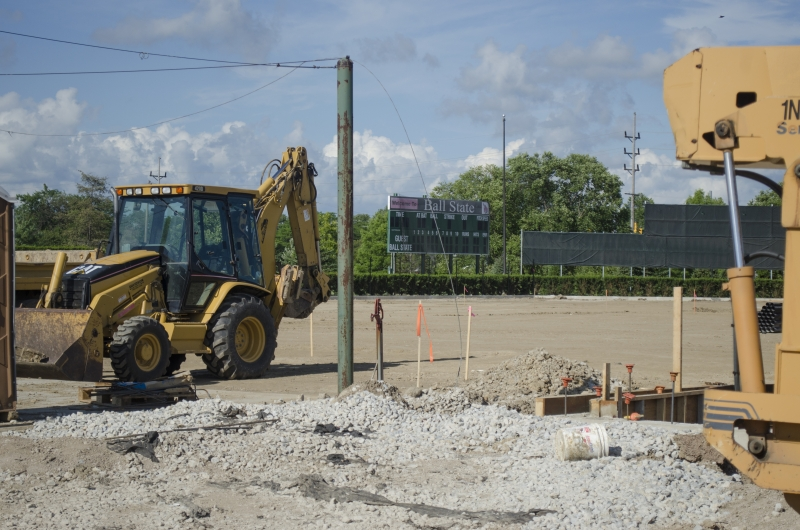 BASEBALL: Renovations to Ball Diamond begin