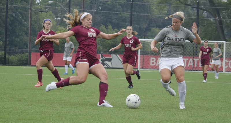 SOCCER: Team uses exhibition to prepare for season