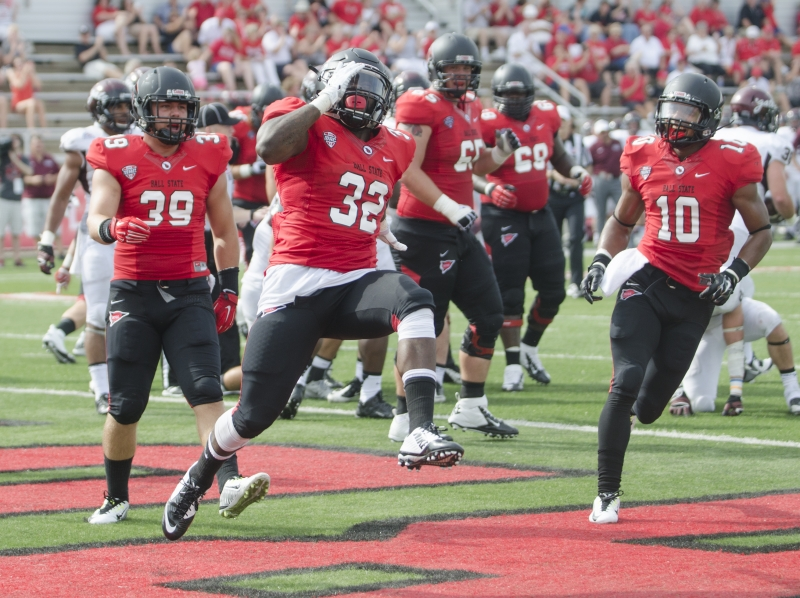 FOOTBALL: Ball State running game dominant in victory over Colgate