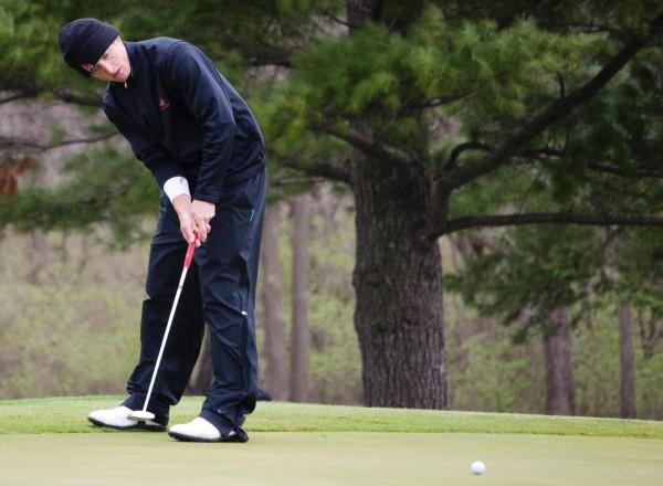 MEN'S GOLF: Cards shoot into fifth place in Air Force Invitational