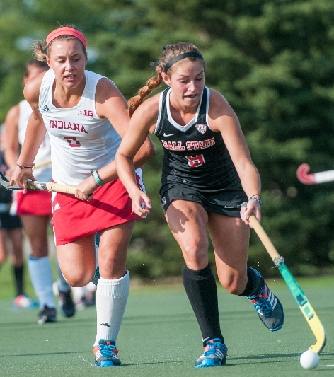 FIELD HOCKEY: Cardinals drop home opener to Indiana