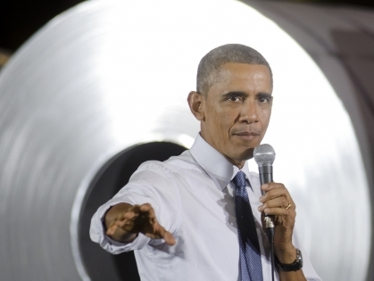 Obama visits Indiana for National Manufacturing Day