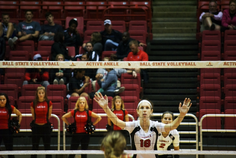 WOMEN'S VOLLEYBALL: Benson earns fourth conference weekly award this season