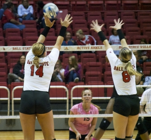 WOMEN'S VOLLEYBALL: Hopkins embraces expanded role