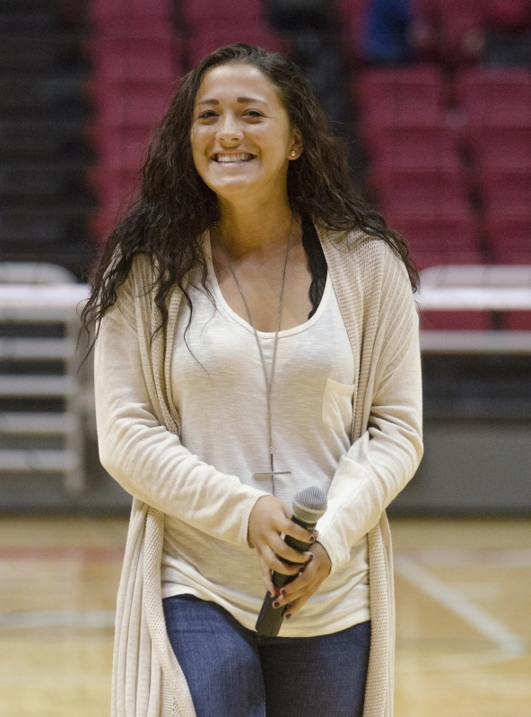SOCCER: Hall shows off music passion