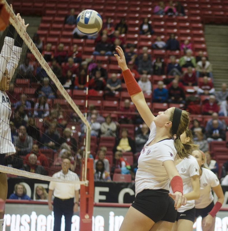 WOMEN'S VOLLEYBALL: Ball State falls to Western Michigan in MAC Tournament
