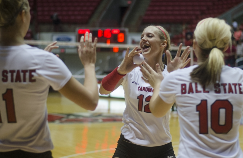 WOMEN'S VOLLEYBALL: Spadafora helps lead Ball State to 17-13 season
