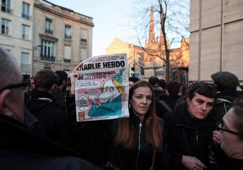 Graduate student calls Paris shooting an attack on freedoms