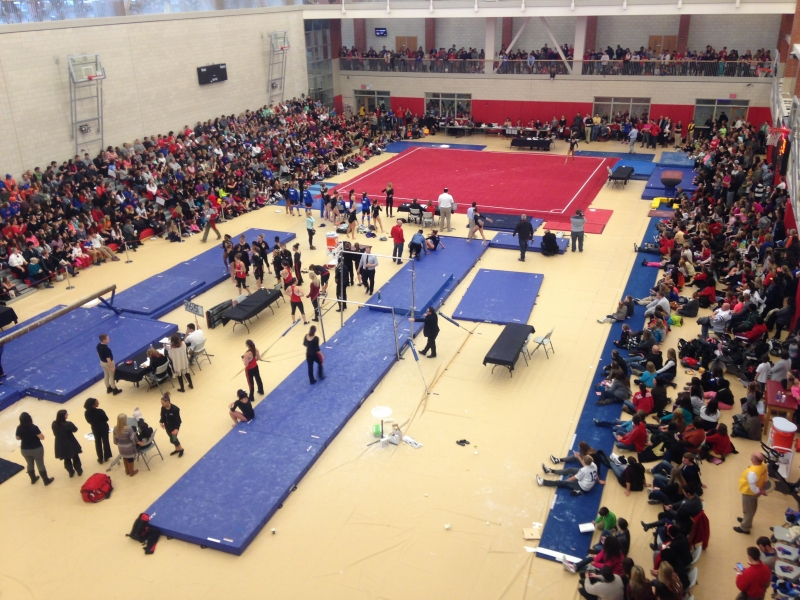 GYMNASTICS: Standing crowds could force move to Worthen Arena